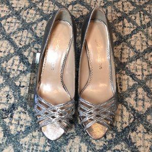 Caparros Open Toe Heels Dress Shoes